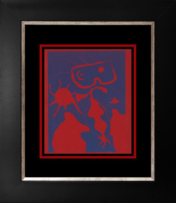 Joan Miro Linocut