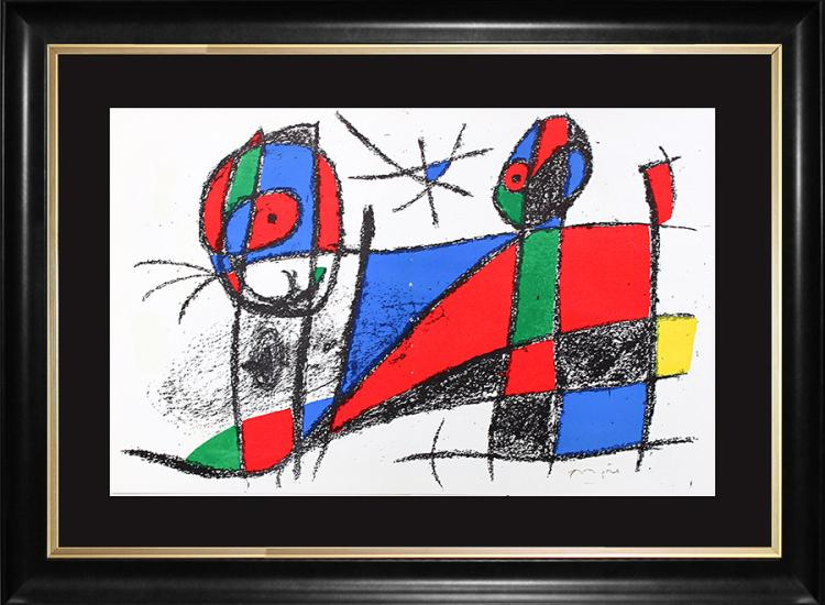 Joan Miro Hand Signed Original Lithograph