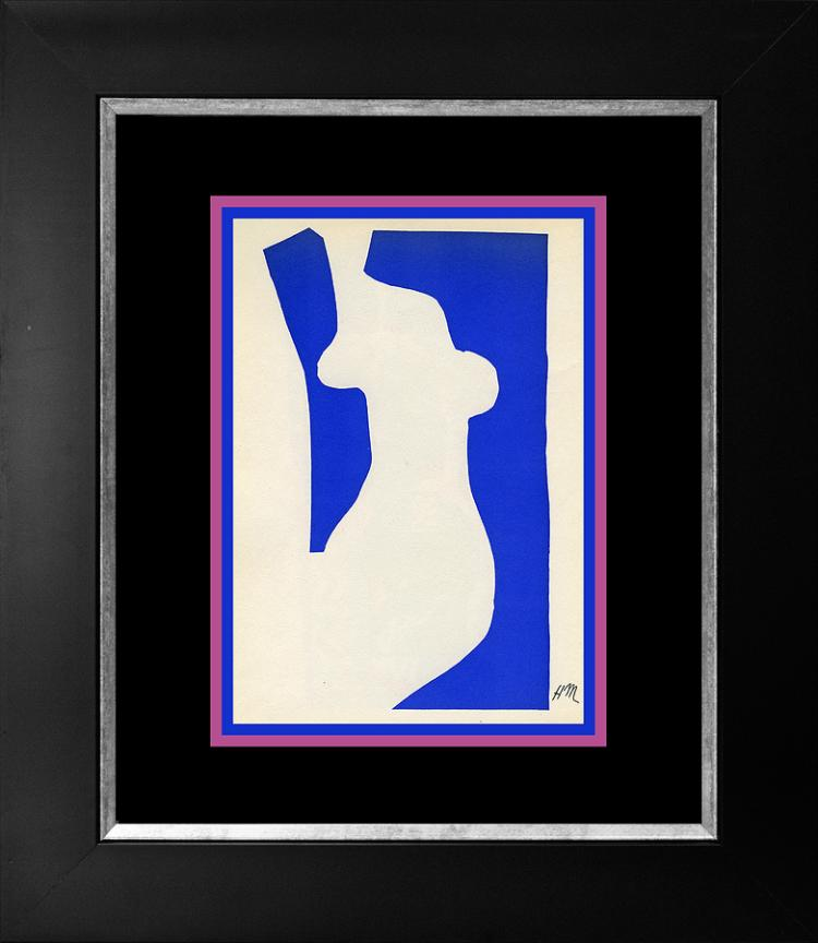 Henri Matisse Lithograph from 1950