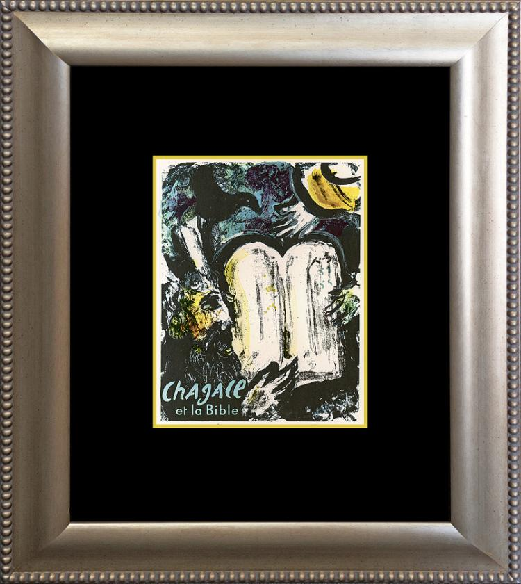 Marc Chagall Lithograph 1970