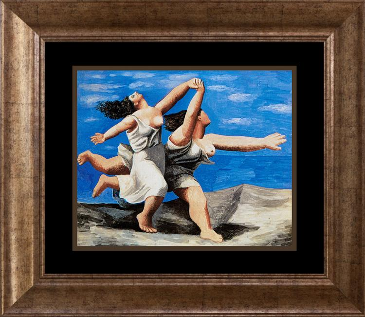 Two Women Running on the Beach Pablo Picasso Collection Domaine Limited Ediition