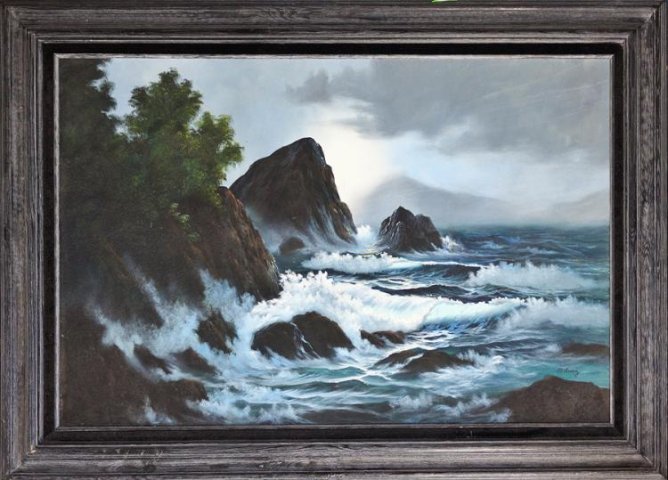 Original Oil by M.Ruis