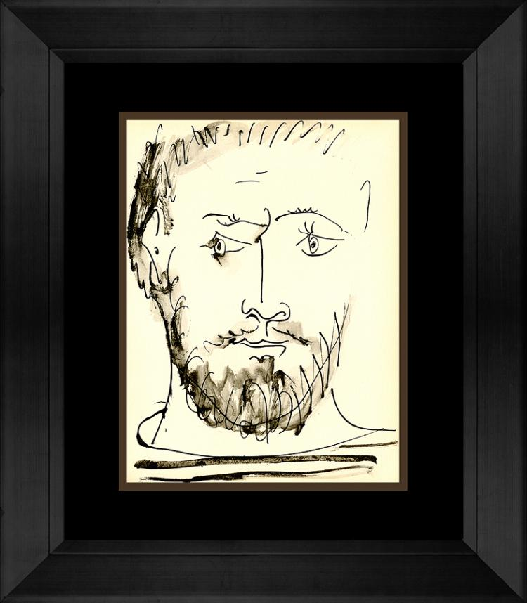 Picasso Marge du Buffon Portfolio limited edition almost 60 years ago 10 x 14 image size