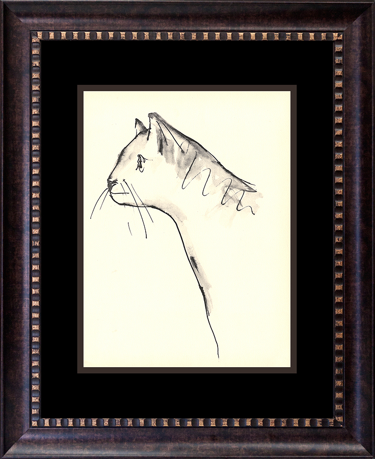 Pablo Picasso Lithograph From the Marge Buffton portfolio