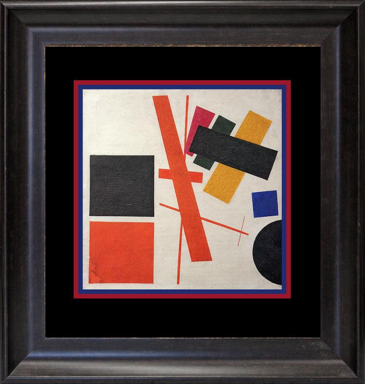 Kazimir Malevich Color Plate Lithograph 1972