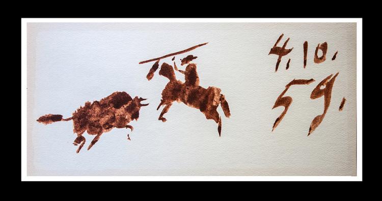 Pablo Picasso 1961 Lithograph Toros Y Toreros.