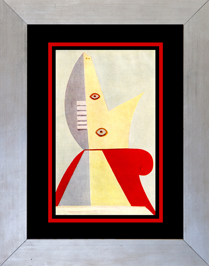 Pablo Picasso Color Plate Lithograph from 1950