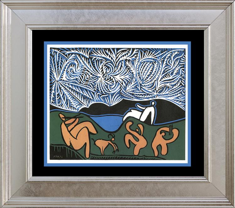 Pablo Picasso lithograph from 1979