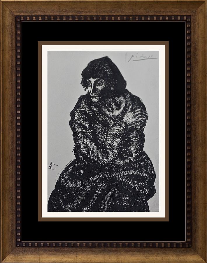 Color Plate Lithograph Pablo Picasso