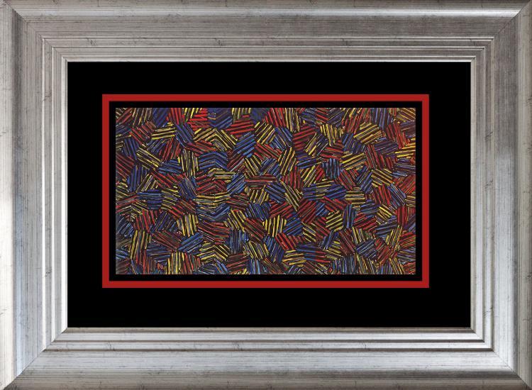 Jasper Johns color plate Lithograph