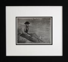 Edgar Degas engraving limited edition over 90 years ago