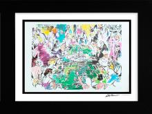 LeRoy Neiman Hand signed Lithograph The Game of Life