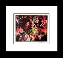 Le Roy Neiman Roulette Lithograph Hand Signed