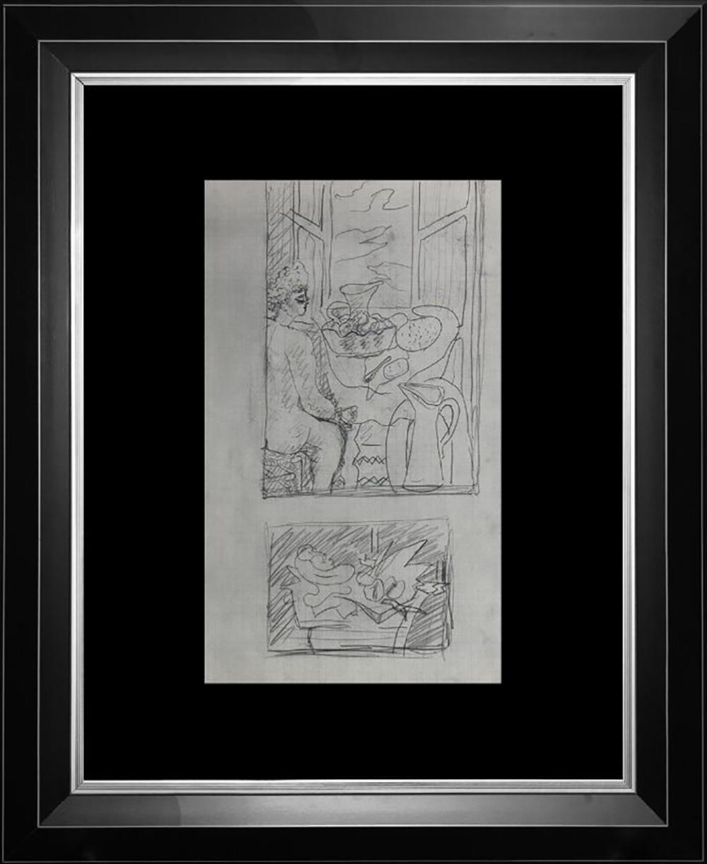 1926 Pablo Picasso Original Lithograph Dessins.