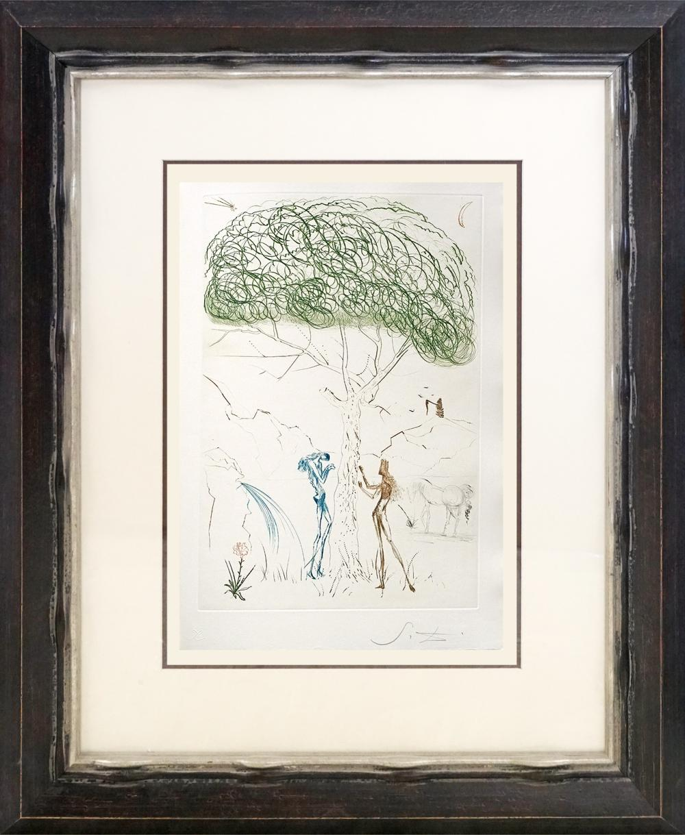 Salvador Dali Original Lithograph Hand signed by the artist very rare to find
