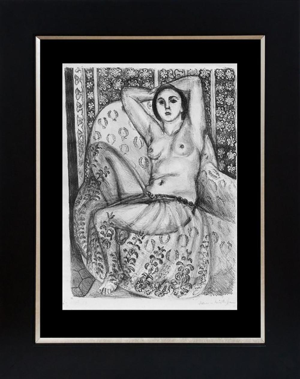 Henri Matisse Lithograph Odalisque  from 1968