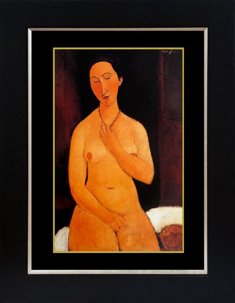 Modigliani color plate lithograph