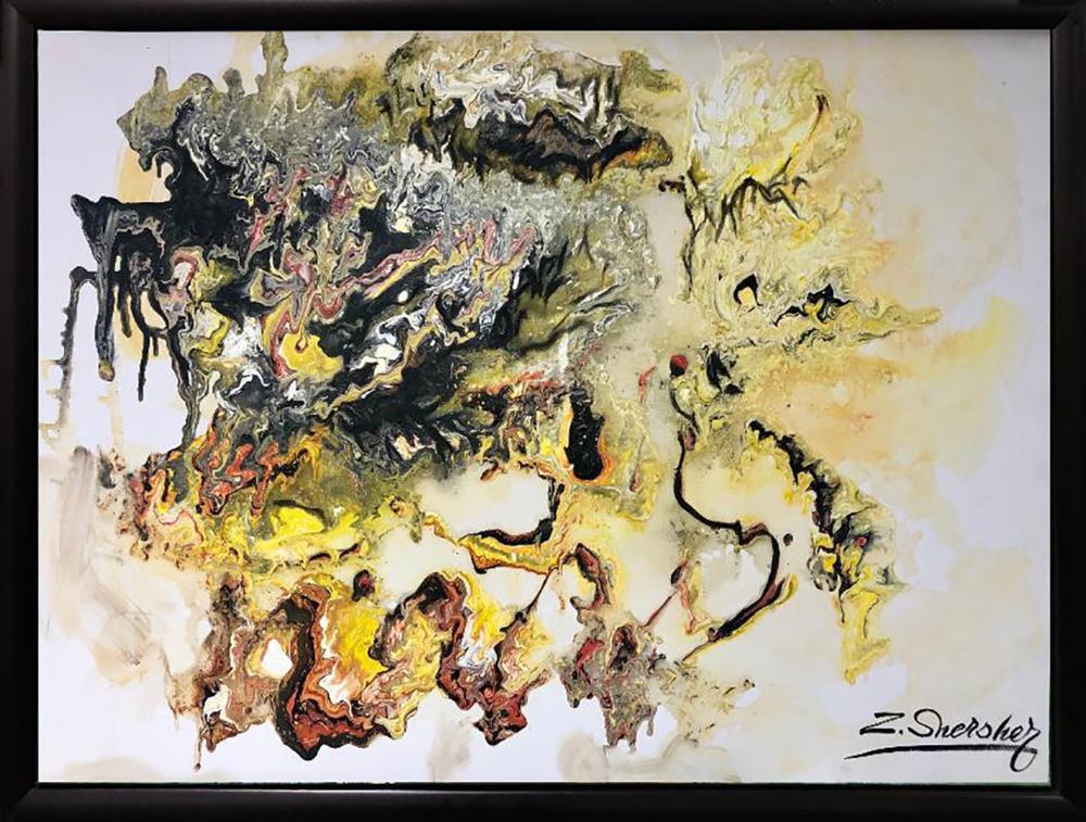 Zinovy Shersher Abstract Original