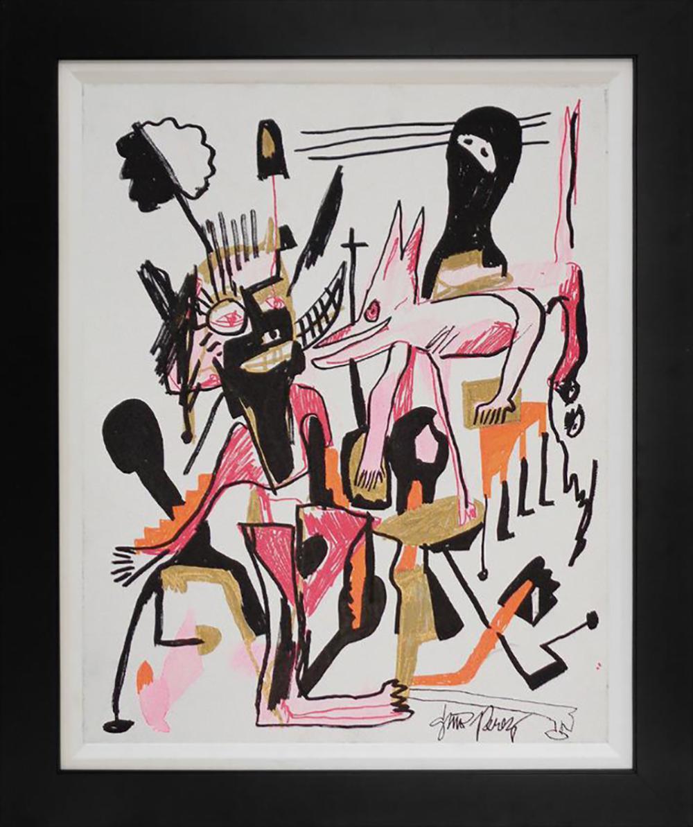 Gino Perez original on canvas