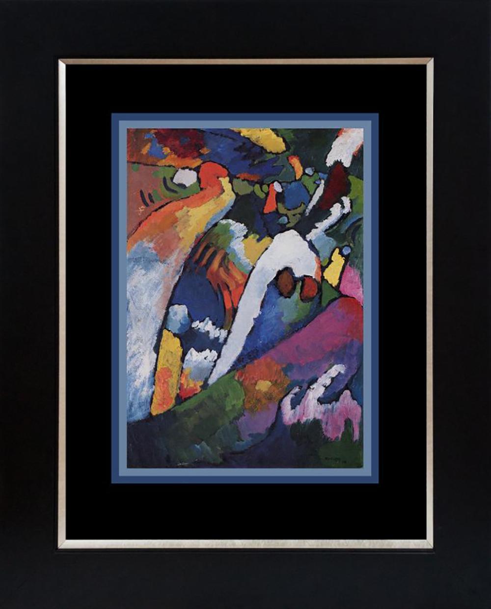 Kandinsky Lithograph from 1967
