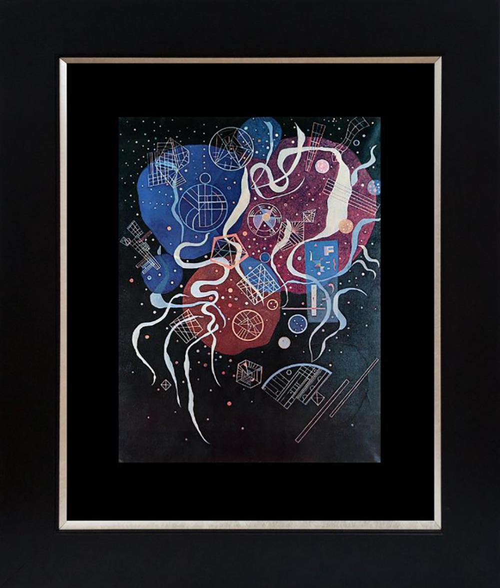 Kandinsky Color Plate Lithograph from 1968