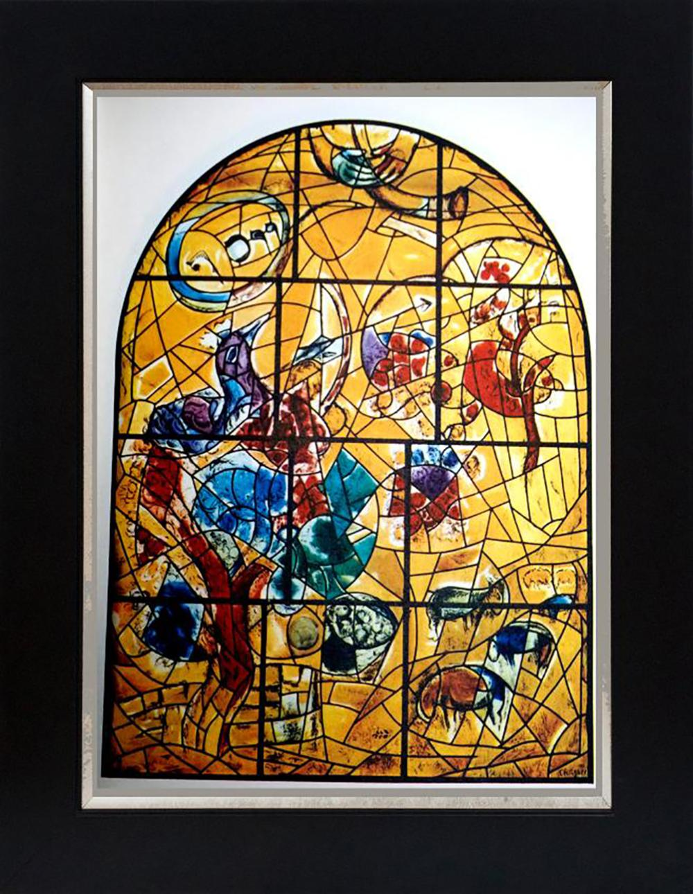 Marc Chagall Jerusalem Windows Lithograph from the 1960s