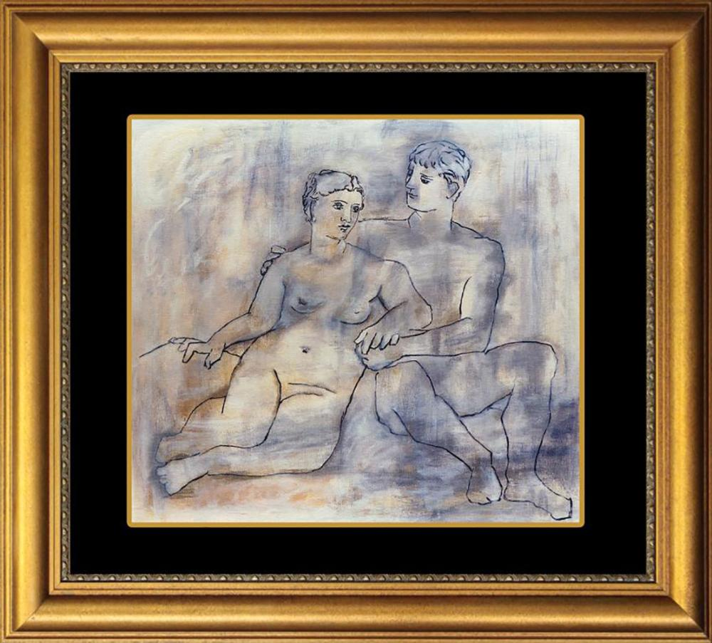 Picasso Limited Edition Nudes limited edition lithograph Collection Domain Picasso