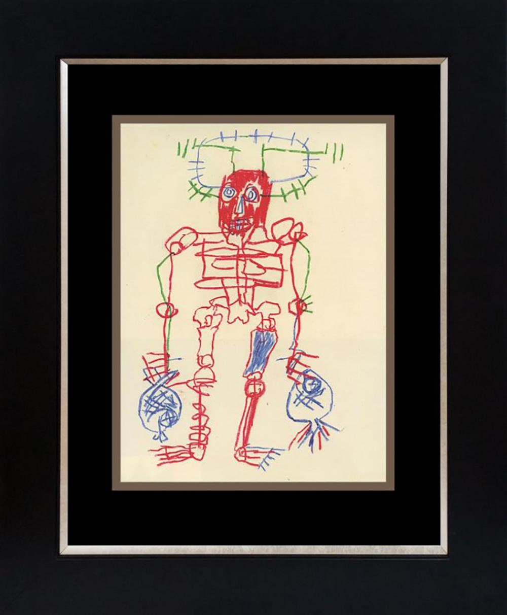 Jean Michel Basquiat Lithograph from 1983