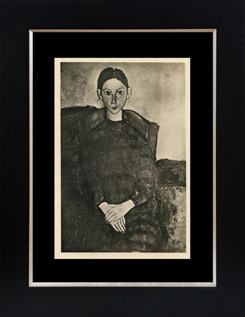 Modigliani Lithograph 90 year old lithograph on velin limited edition