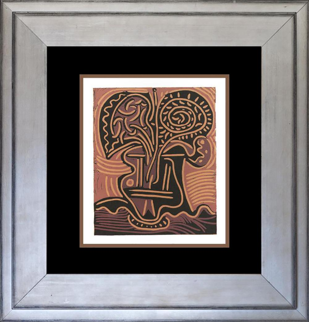 Pablo Picasso Lithograph from 1979.