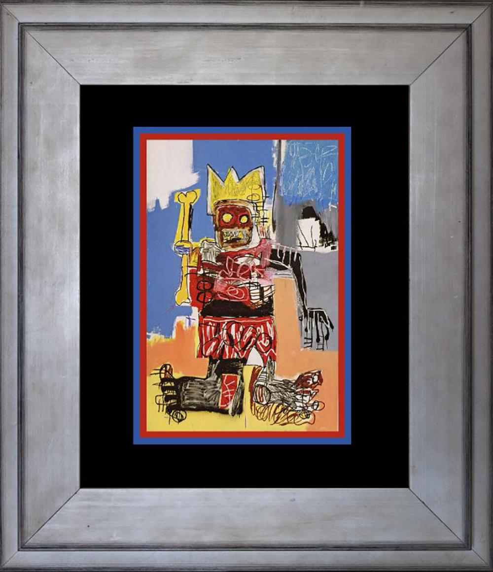 Jean Michel Basquiat Color Plate Lithograph From 1991