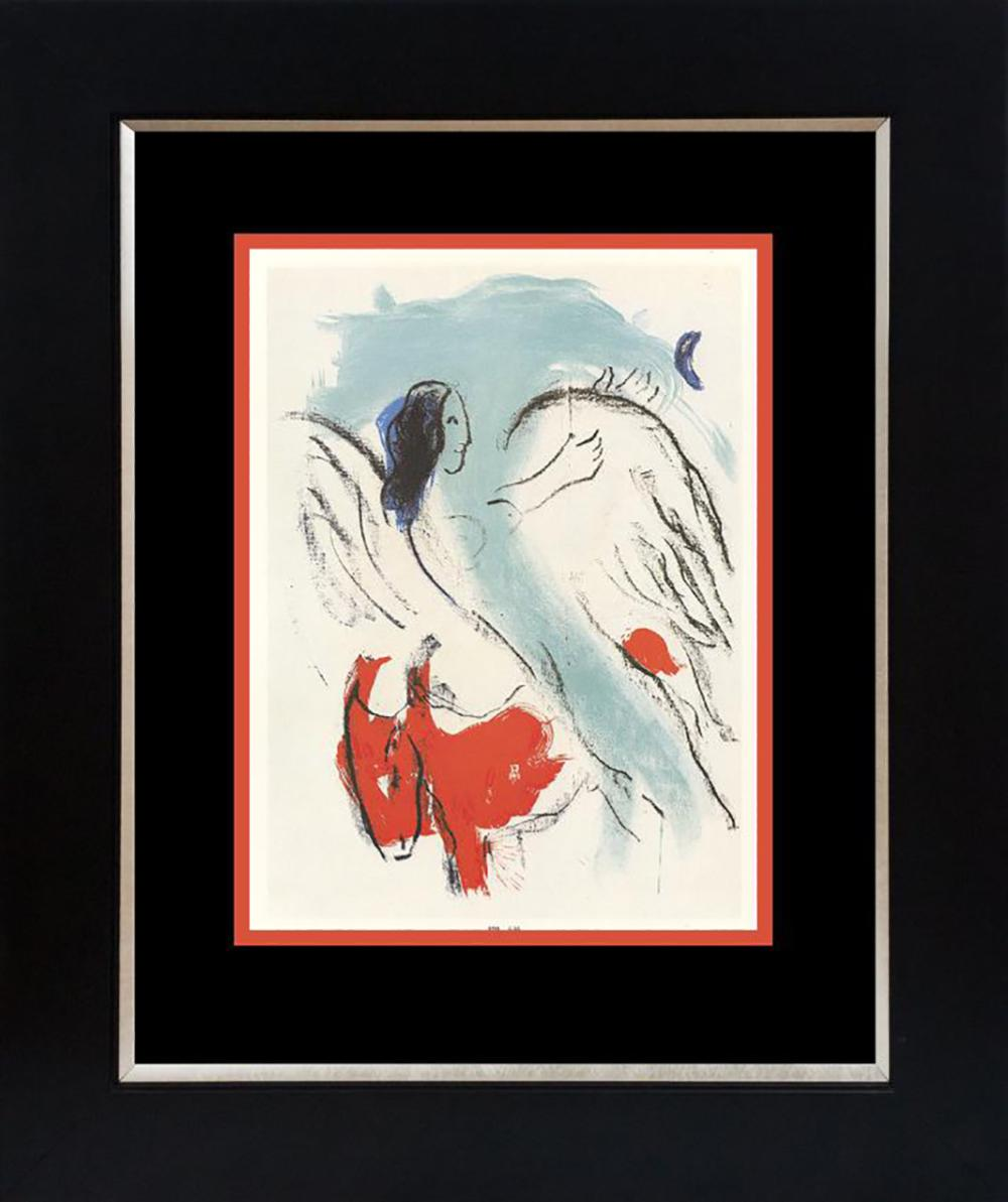Marc Chagall Lithograph from 1965