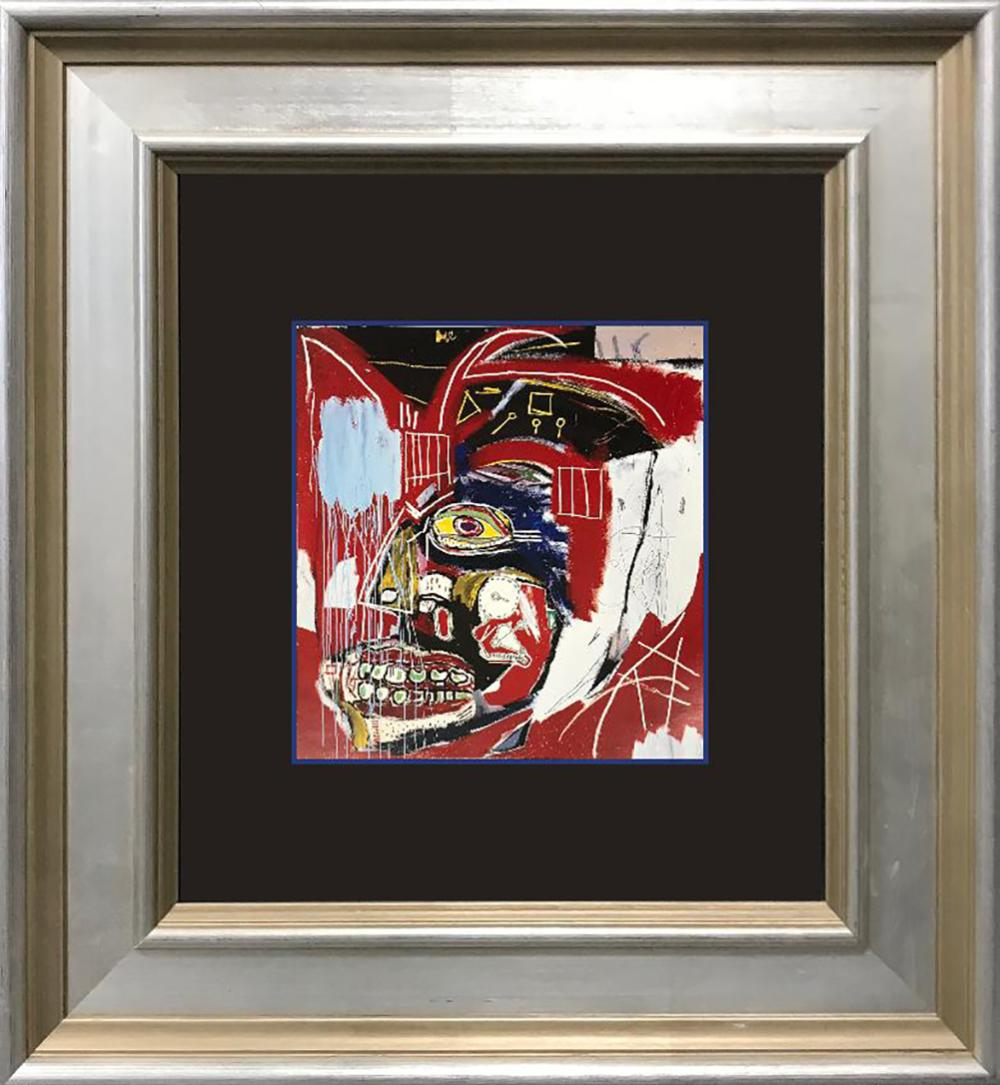 Jean Michel Basquiat LIthograph from 1982