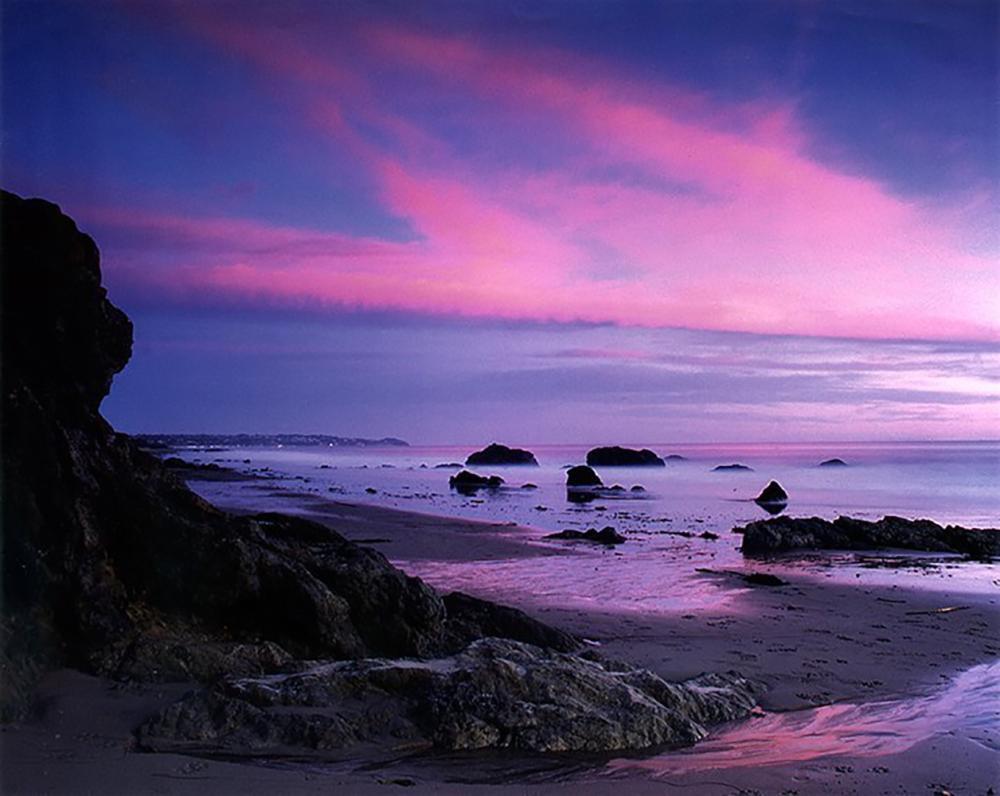 Nick Rodionoff-Photography on canvas-Magenta Sunset