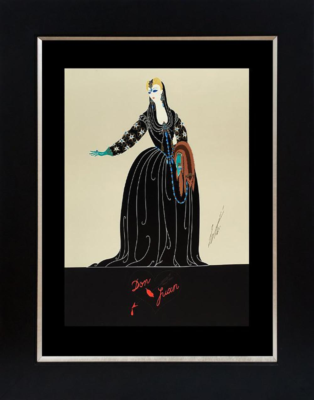Erte Serigraph Limited Edition