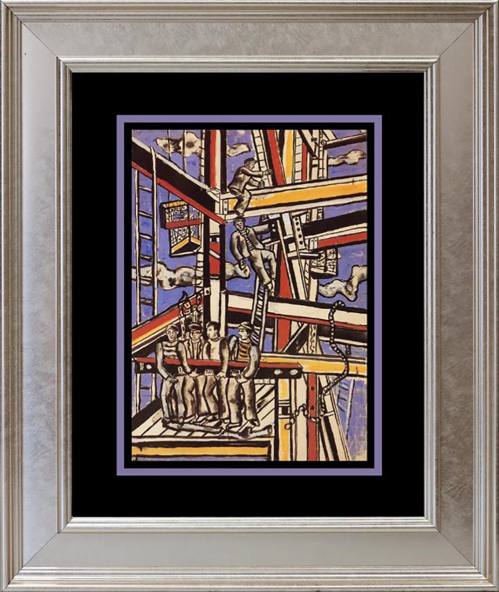 Fernand Leger Color Plate Lithograph 1979