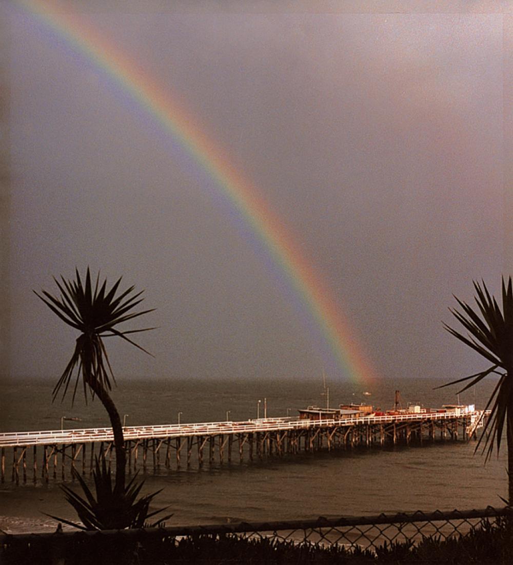 Nick Rodionoff Rainbow Photography on canvas