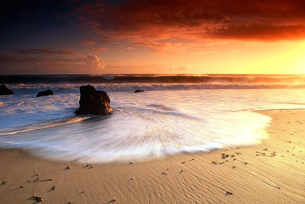 Nick Rodionoff Photography Sunset III photography on canvas