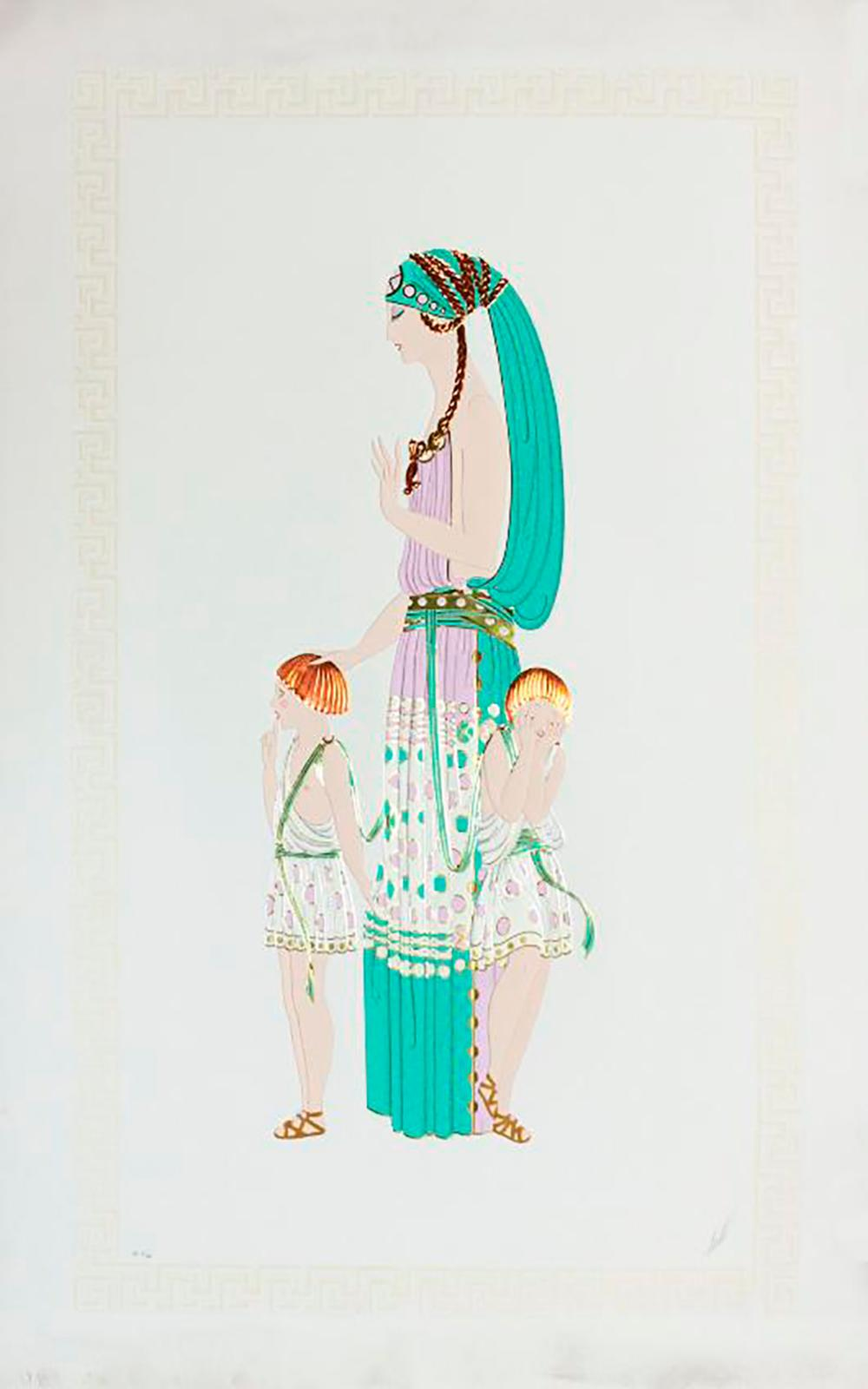 Erte Limited Edition Serigraph Hand Signed Suite
