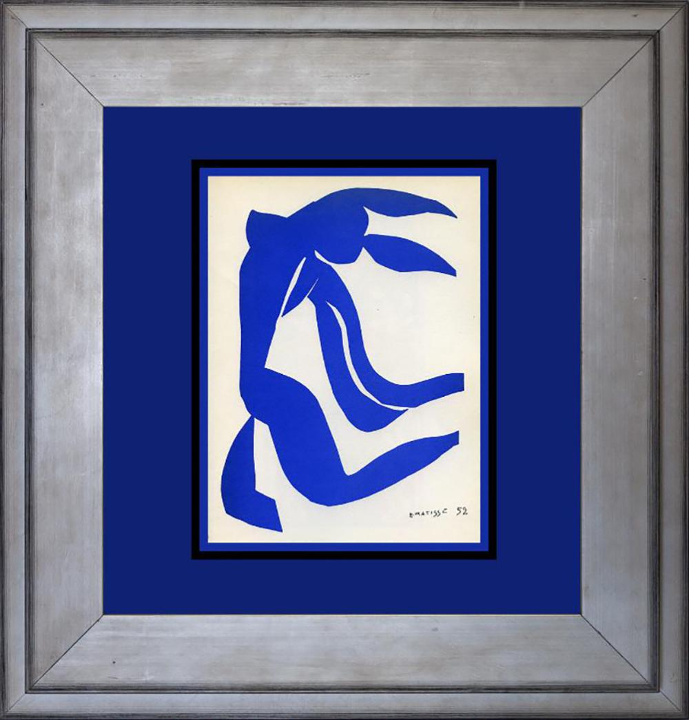 Henri Matisse Lithograph from 1954