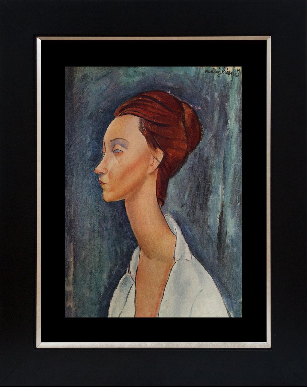 Modigliani Lithograph from 1967