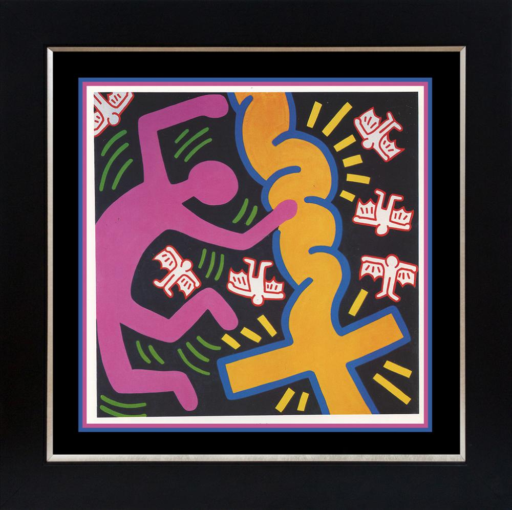 Keith Haring  lithograph from 1972