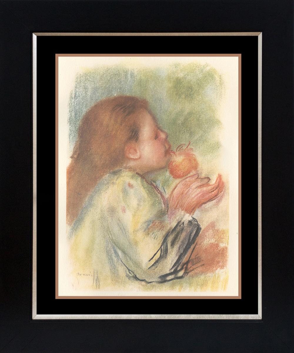 Pierre Renoir embossed Lithograph  from 1919