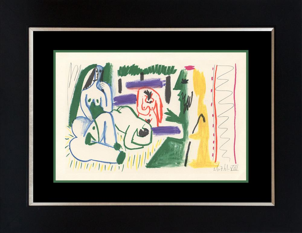Pablo Picasso Lithograph from 1969