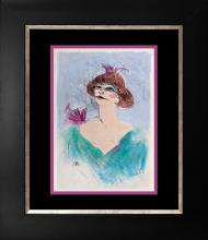 Toulouse Lautrec Hand coloured lithogragh over 60 years ago