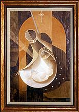 Lalo Garcia Nativity Limited Edition on canvas