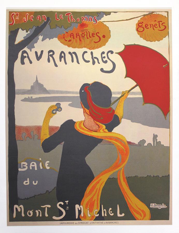 Toulouse Lautrec Baie du Mont St. Michel Poster