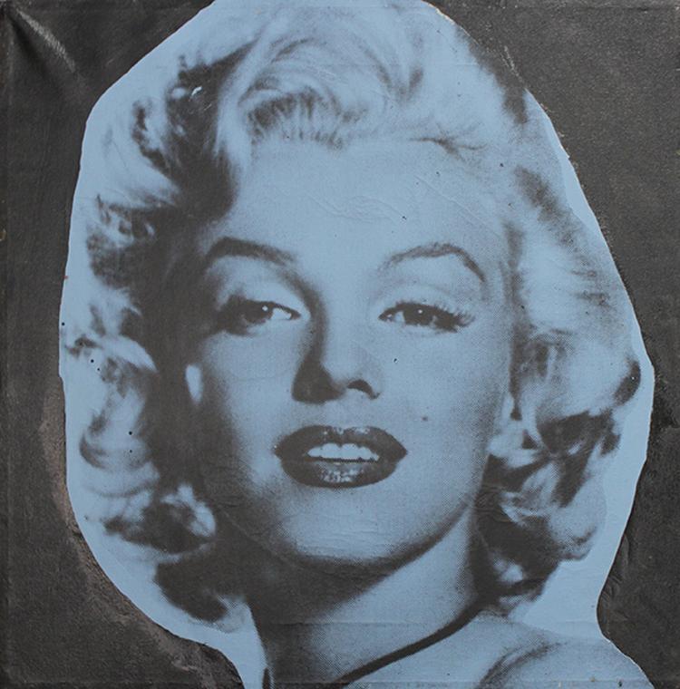Stephen Kaufman Mixed Media on canvas Marilyn Monroe