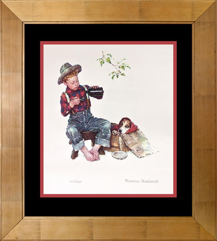 Norman Rockwell fine art lithograph limited edition