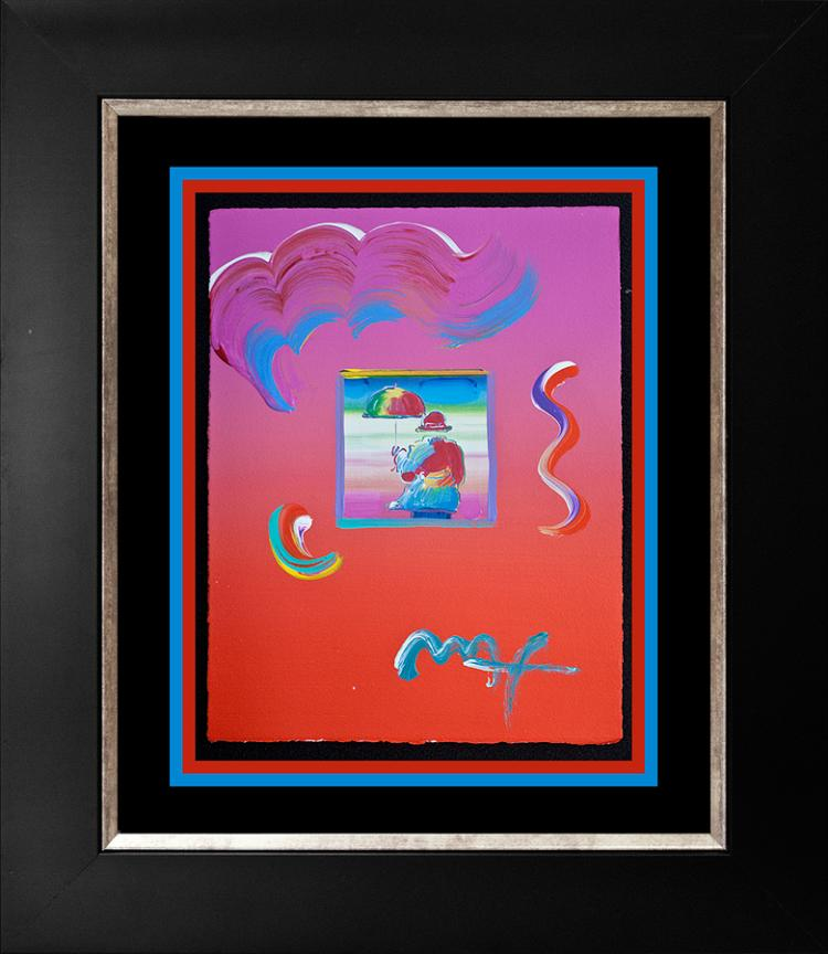 Peter Max Original Mixed Media
